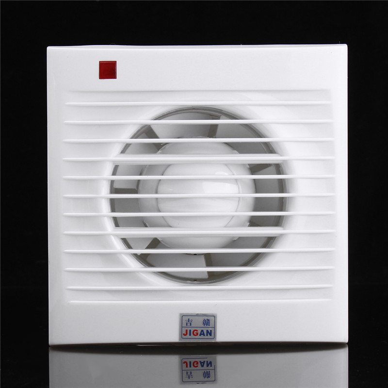 Can Fan Installation : Inch mini wall window exhaust fan bathroom kitchen
