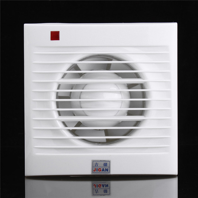 4 Inch Mini Wall Window Exhaust Fan Bathroom Kitchen Toilets Ventilation  Fans Windows Exhaust Fan Installation