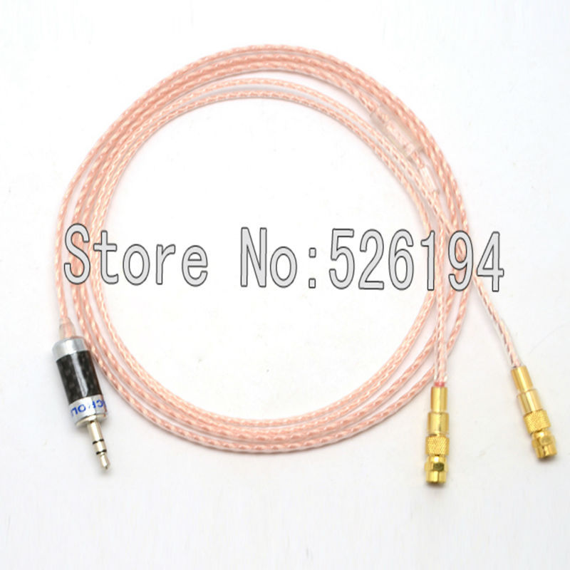 купить Free shipping 1.2Meter/pieces 5N OFC copper Cable For HiFiMan HE400 HE5 HE6 HE300 HE560 HE4 HE500 HE600 Headphone недорого