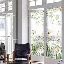 Freies Kundenspezifisches Statisch Haftenden Film Matt Opaque Privatsphäre  Glasmalerei Aufkleber Wohnkultur Digitaldruck BLT622 Frühen Moring