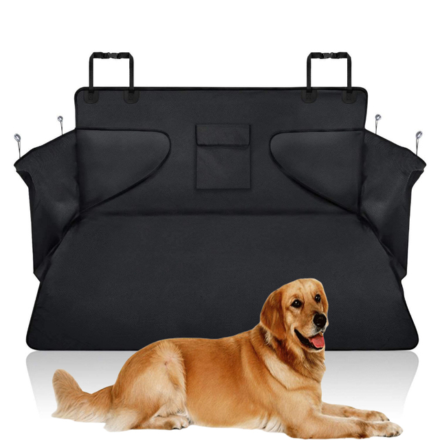 Pet carriers Car Seat Cover Dog Cat Car Back Seat Waterproof Scratch-proof Nonslip Durable Soft Mat Hammock Cushion Protector