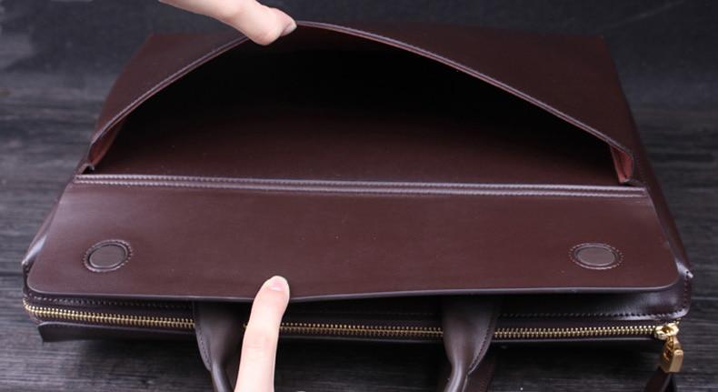 Suitcase Schwarz Qualität Laptop Briefcase 14 Bag Herren Leder Totes Portfolio Handtasche 3 Bag Black Yinte brown Zoll Aktentasche Big Männer black Tasche Hohe T8182 Business Small brown Messenger BXyq78