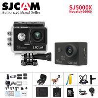 SJCAM SJ5000X Elite Action Camera WiFi 4K 24fps 2K 30fps Gyro Sports DV 2.0 LCD NTK96660 Better go pro her3 Waterproof Camcorder