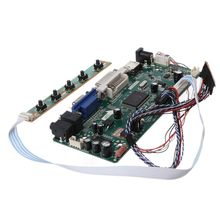"Controller Board LCD DVI VGA Audio PC Module Driver DIY Kit 15.6"" Display B156XW02 1366X768 1ch 6/8 bit 40 Pin Panel"