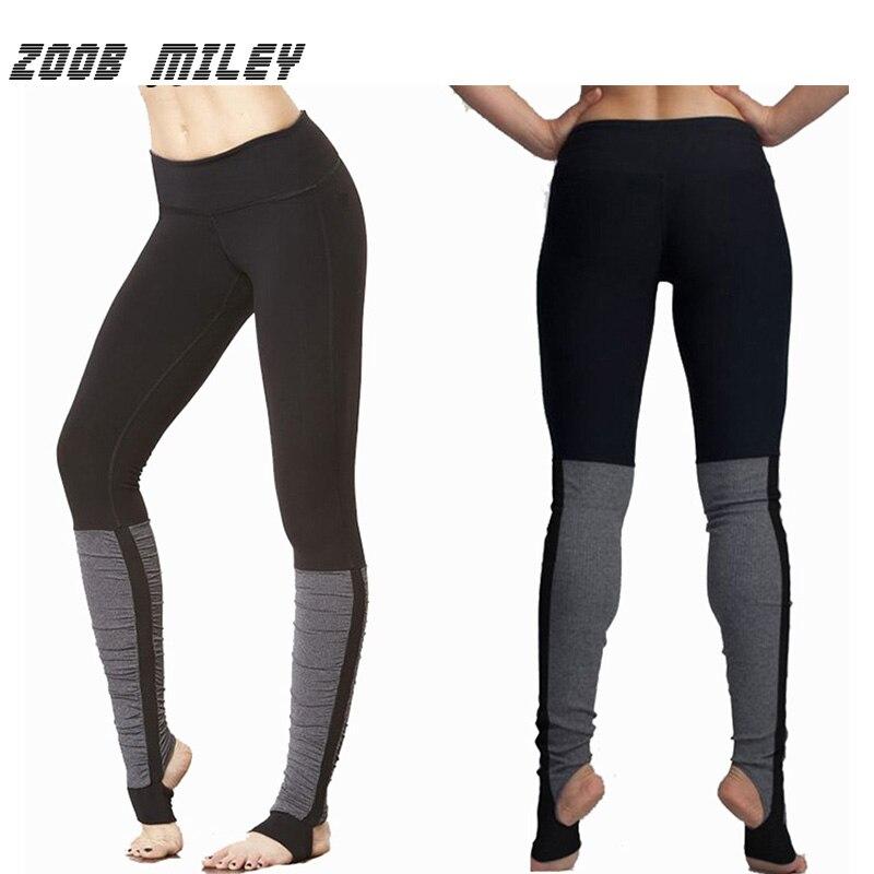 Zoob сексуальная Майли Для женщин Йога Леггинсы для женщин эластичный Push Up Бег сжатия Колготки для новорождённых Брюки для девочек быстросох... ...