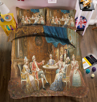 Morden 3D Bedding Set skull Quilt Cover Set King rosa Queen Twin full Size printed sheet bed Home Textiles Drop Ship