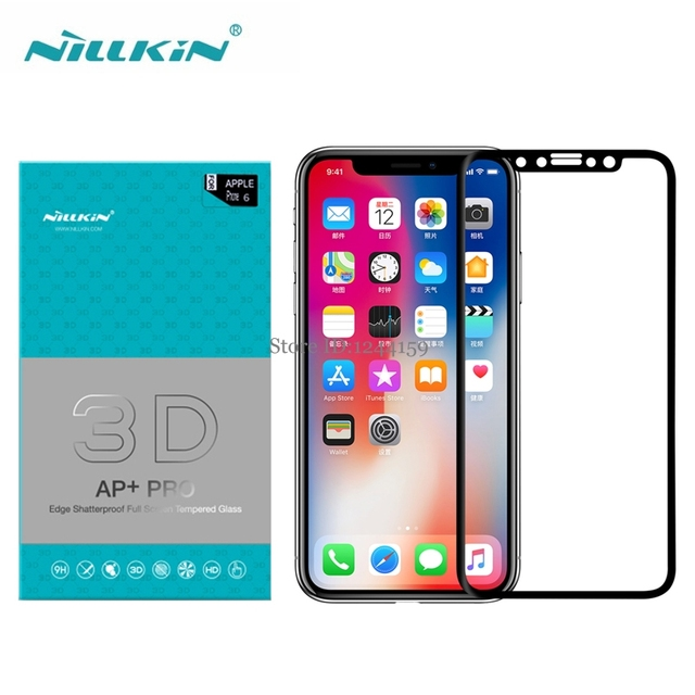 check out a52ed 4723e US $12.93 |Nillkin AP+Pro 0.23mm 3D Full Cover Tempered Glass For Apple  iPhone X Screen Protector for iPhoneX-in Phone Screen Protectors from ...