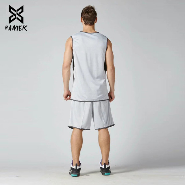 Basketball Set Uniforms Training Suits Running Breathable Sports Set 2