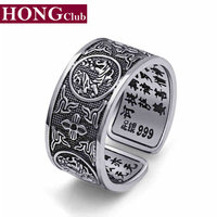 2015 New Arrival Brand Pisces Ring 100 Real 925 Sterling Silver 925 Rings For Men Wedding