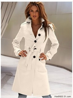 2017 New Spring the new multicolor Europe and the United States to collect waist cashmere cloth coat of cultivate one's morality