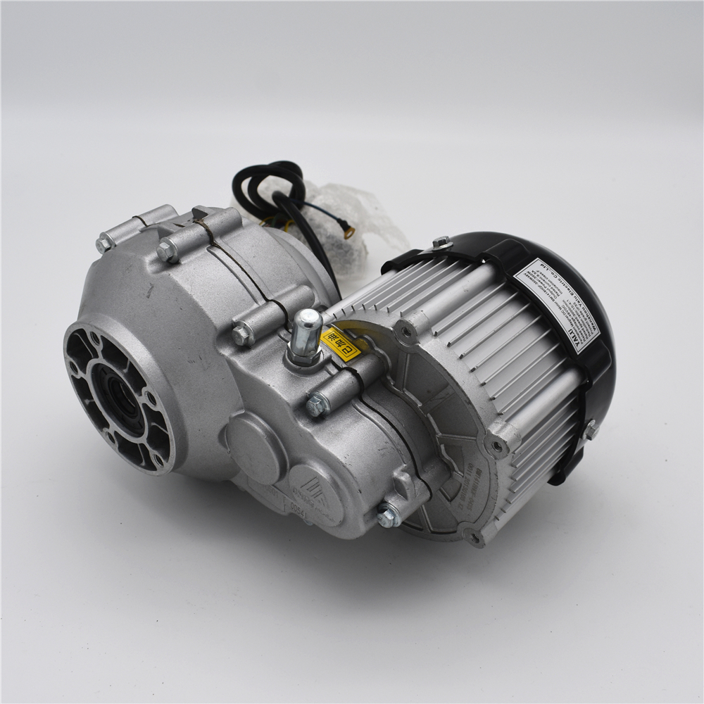 Electric tricycle fittings DC brushless differential motor BM1418HQF(BLDC)350W36/48V worm Gearmotor k10 48 24 bm