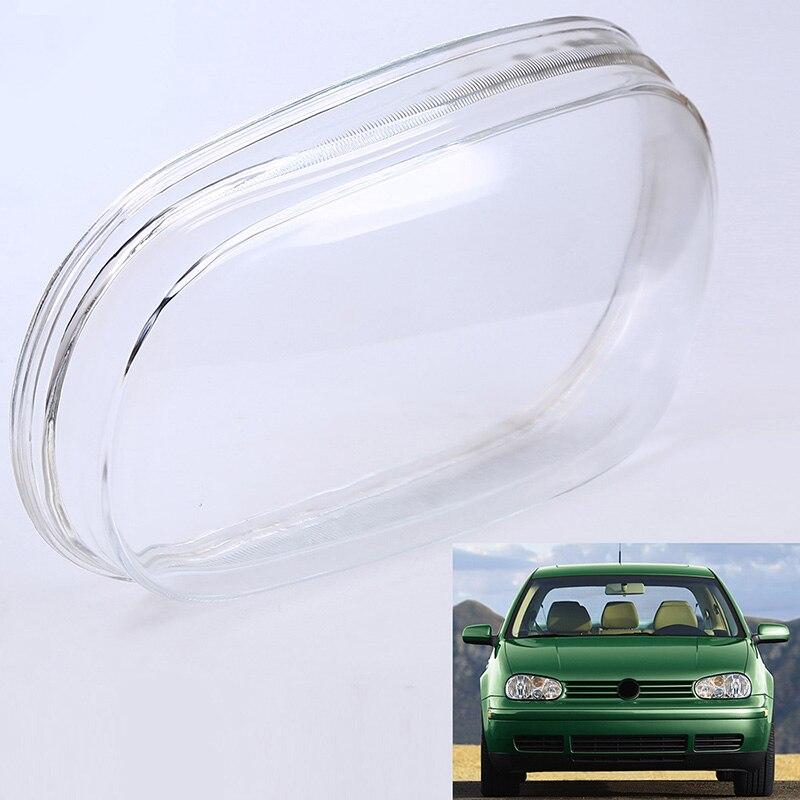 POSSBAY Car Lights Headlight Shell Head Lamp Cover Glass Replacement Headlights Lens for VW Golf4 MK IV 1999 2000 2001 цена 2017