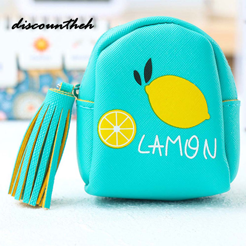 Cartoon Women Coin Purses And Handbags Cute Fruit Bottle Leather Pouch Kawaii Children Wallet Small Bag For Keys new brand mini cute coin purses cheap casual pu leather purse for coins children wallet girls small pouch women bags cb0033
