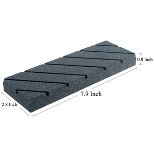 Image 2 - Best Flattening Stone For Whetstone Silicon Carbide Lapping Stone With Grooves Coarse Grinding Lapping Plate Flattener Fixer