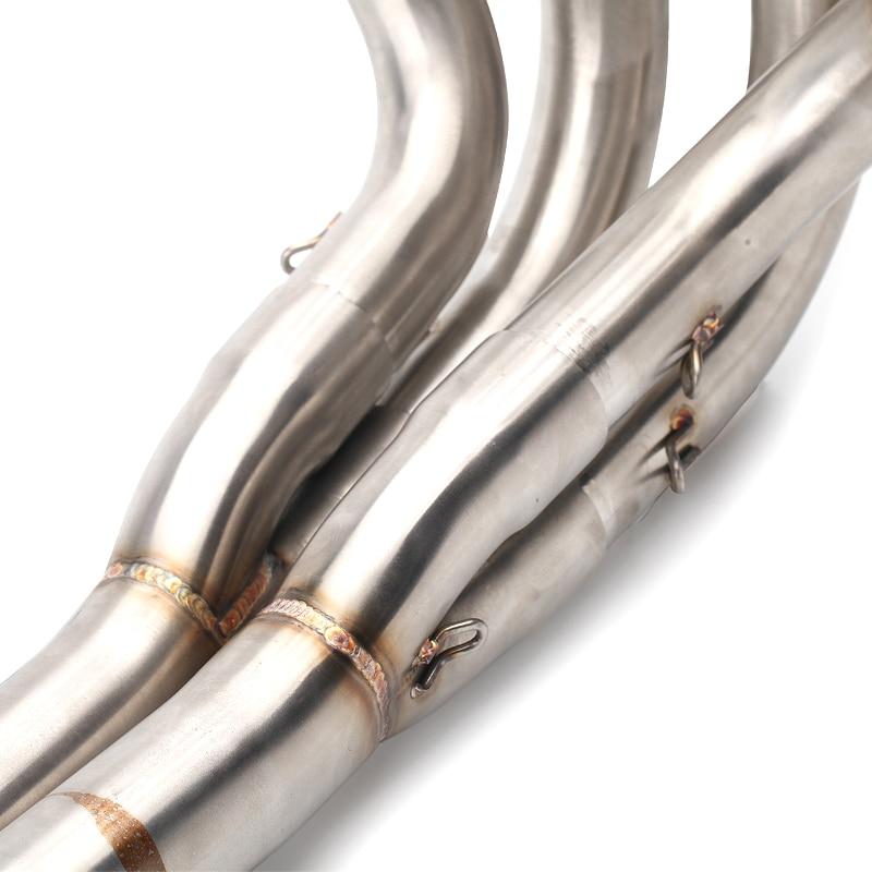 Штыревой разъем 51 мм полностью Соединительная труба мотоцикла