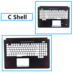 Image 4 - Brand New Laptop For ASUS FX80 FX80G FX504 FX504G Top Cover /LCD Bezel/Palmrest/Bottom Base Cover Case