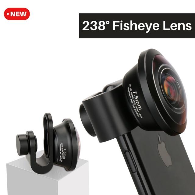 Aliexpress.com : Buy Ulanzi Aluminum Clip 238 Degree Fisheye Lens ...