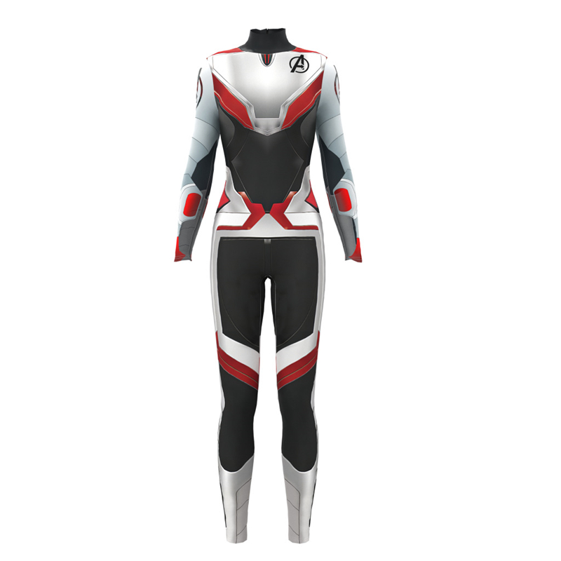 Avengers 4 Endgame Quantum Realm Cosplay Costume Women Superhero Costume Adult Halloween Costume For Women Suit in Movie TV costumes from Novelty Special Use