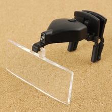 1.5x, 2.5x, 3.5X Multipower LED luz de los ojos gafas baja visión Clip de la lupa MG19157-2