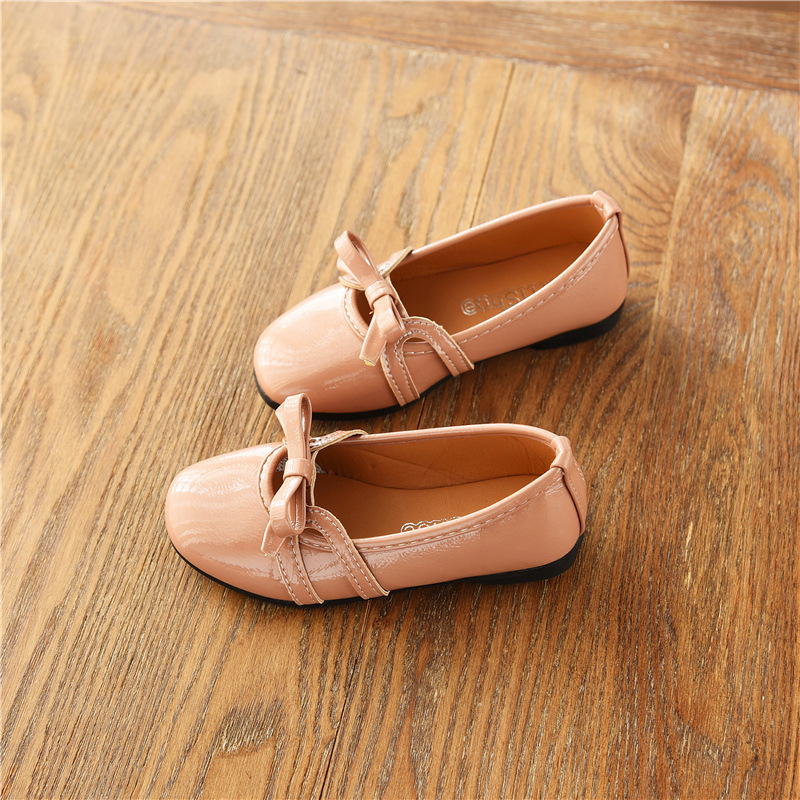 2018 new all-match shoes spring and autumn girls shoes round toe soft girls shoes childrens sports shoes