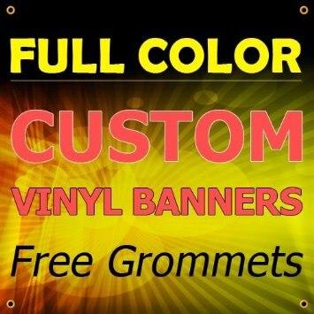 custom print all size billboard Sign Vinyl Banner 1.28usd/sq.feet outside or inside banner