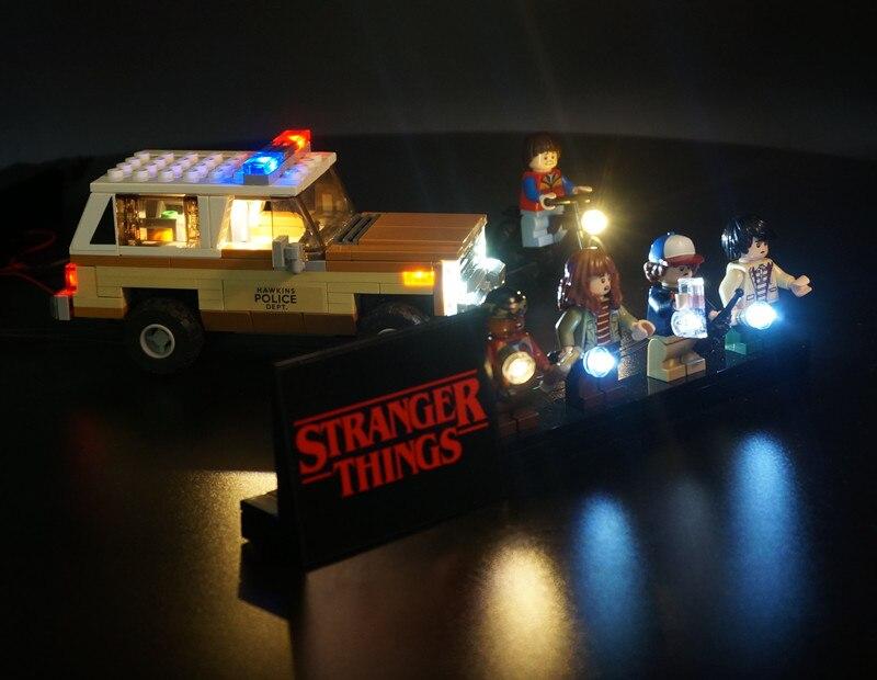 led light kit for LEGO 75810 Stranger things the upside down lighting 75810