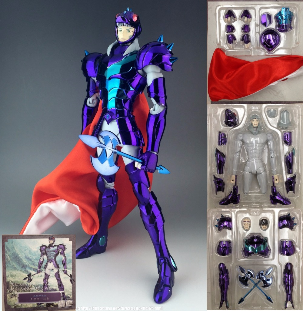 in stock Phecda Gamma tholl Thor Saint Seiya Myth Cloth EX Metal armor CS Speeding Aurora model toy PayPal Payment cmt aurora model cs model saint seiya oce ex libra dohkor action figure cloth myth metal armor