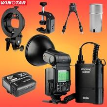 Godox Witstro AD360 AD360II-N i-TTL HSS For Nikon DSLR Camera Portable Speedlite Flash Light Kit