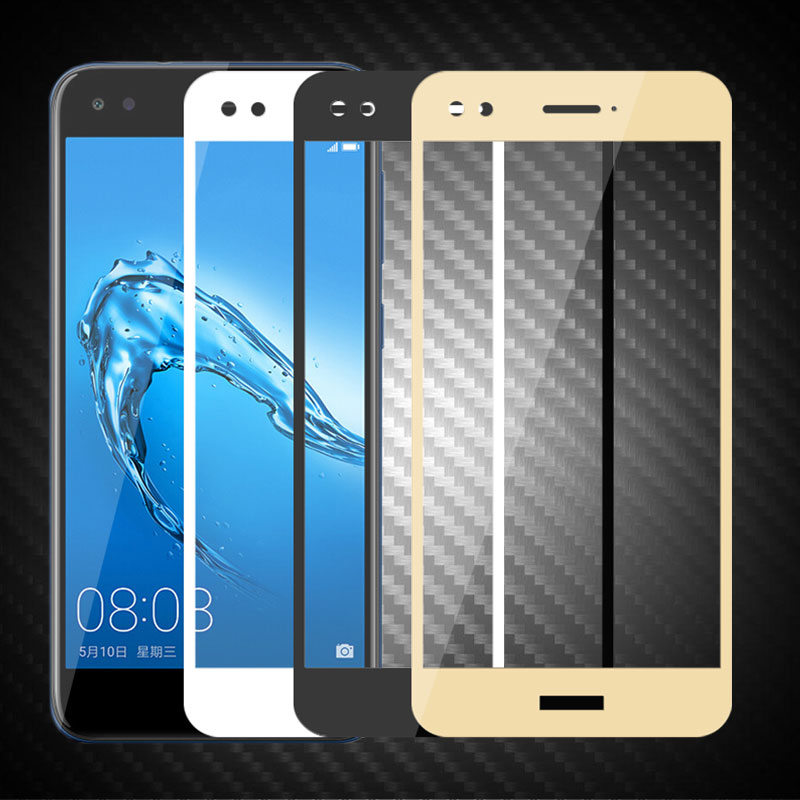 For Huawei Nova Lite 2017 SLA-L22 Full Cover Tempered Glass For Huawei Nova Lite 2017 Screen Protector Protective Film Glass