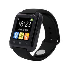 U80 Smartwatch Bluetooth Reloj Inteligente para iPhone IOS Android Windows Phone Desgaste Reloj Usable Dispositivo Smartwach PK U8 GT08 DZ09