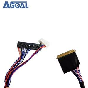 Image 2 - Đa Năng 1 Ch 8 Bit 40 Chân 40 Pin Đơn 8 LVDS Cáp Cho Laptop Notebook Bảng LED Ma Trận màn Hình