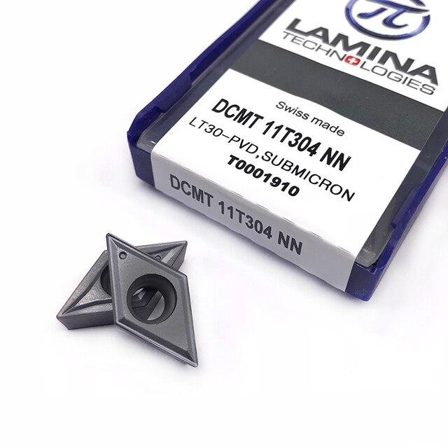 DCMT11T304 NN LT30  tungsten Carbide insert Internal Cutting tools Lathe turning tool Turning Tool