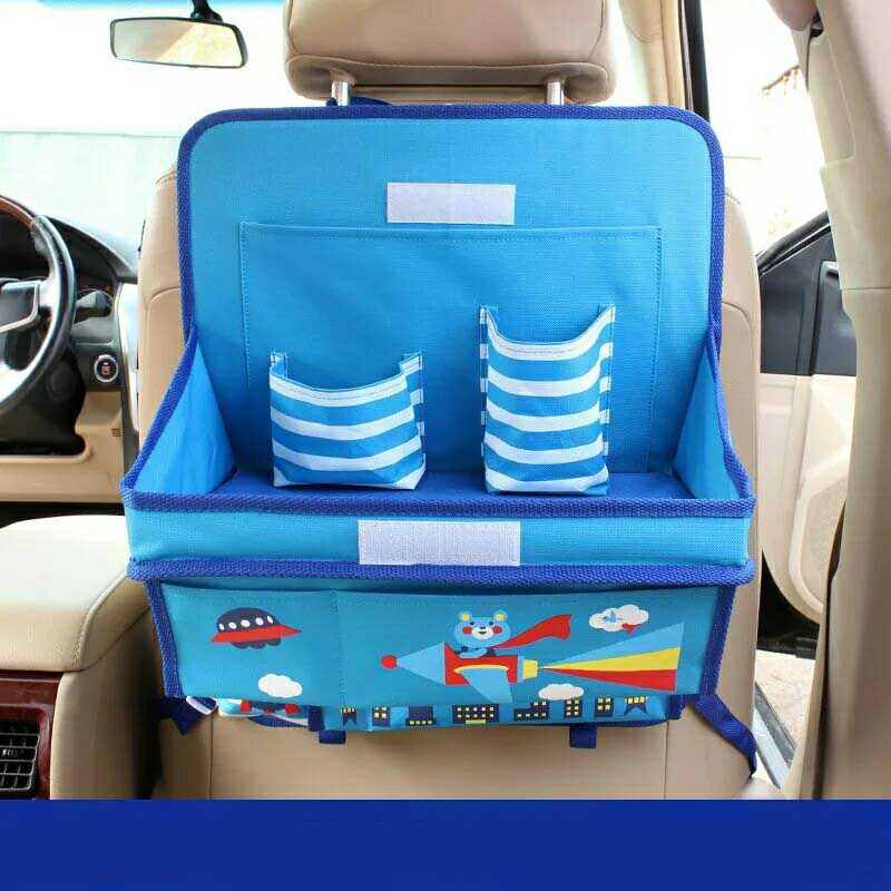 car organizer for kids oxford cartoon auto organizers back seat child dining table storage box organizador car accessories