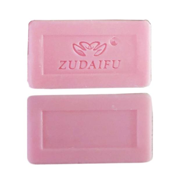 zudaifu Sulfur Soap Skin Conditions Acne Psoriasis Seborrhea Eczema Anti Fungus Bath whitening soap shampoo soap 2