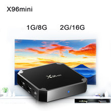 Get more info on the X96mini Smart TV Box Android 7.1.2 Amlogic S905W Quad Core 2.4GHz WiFi 1G8G/2G16G 4K HD X96 mini Set-top Box Media Player PK X92