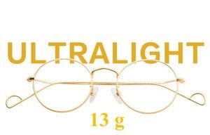 Image 5 - Hand Made John Lennon Vintage Oval Eyeglass Frames Full Rim Men Women Glasses Spectacles Myopia Rx able