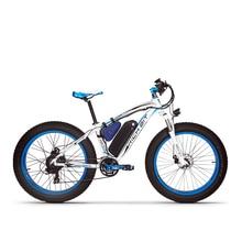 RichBit RT-012 Plus Ebike Avec Vélo LED Ordinateur Puissant Neige électrique Vélo 21 Vitesse 17AH 48 V 1000 W Électrique Fat Tire vélo
