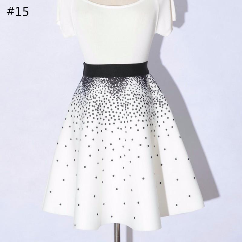 high waist skirt 17