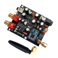 CSR8675 Bluetooth 5.0Receiver Board PCM5102A I2S DAC Decoder Board APTX HD Wireless Audio Module Support 24BIT With Antenna