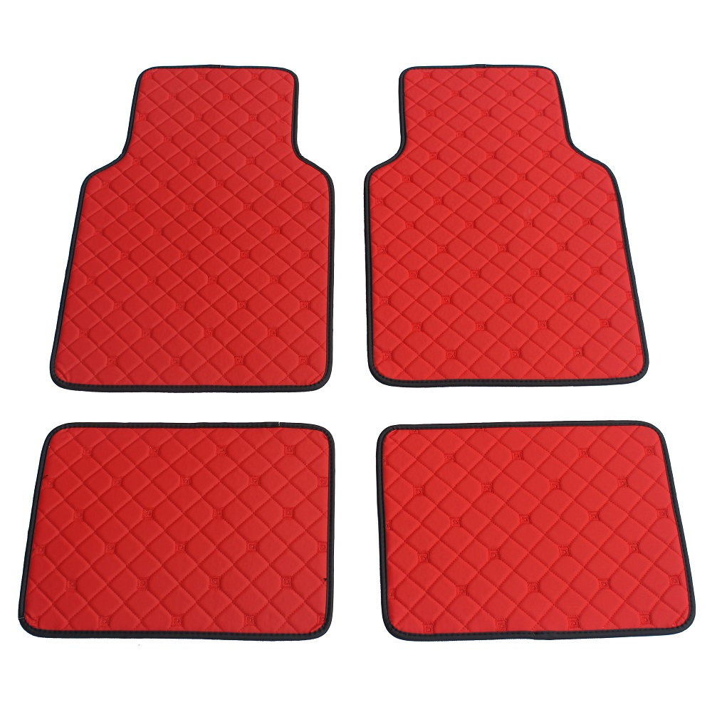 ZHAOYANHUA Universal Car Floor Mats for All Models BMW F10 F11 F15 F16 F20 F25 F30 F34 E60 E70 E90 1 3 4 5 7 Series Car styling