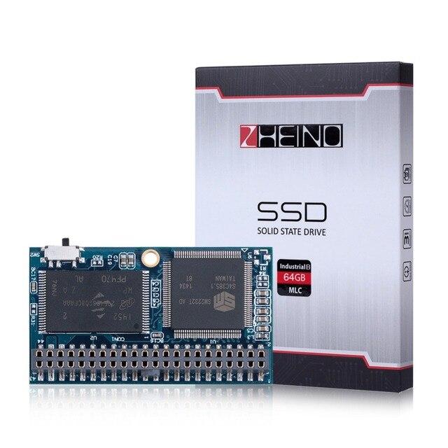 Nueva 44PIN IDE/PATA SSD 64 GB Industrial Horizontal + Socket MLC DOM Disk On Module Unidades de Estado Sólido