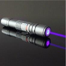 high power 405nm purple-blue violet laser pointers 1w 1000mw burning black match/cigarettes Uv counterfeit detector,free shippi