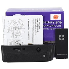 Dmw-bggh5 Батарейная ручка для Panasonic dmw-gh5 gh5 Камера dmw-bggh5gk Батарейная ручка с 2.4 г беспроводной пульт дистанционного управления