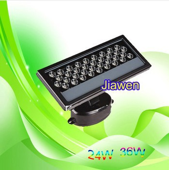 DMX led rgb wall washer  36W 110-265V DMX512 compatible Led floodlight led waterproof ip65 Free shipping 6pcs/lot 36w led wall washer ac85 265v warm white rgb color free shipping