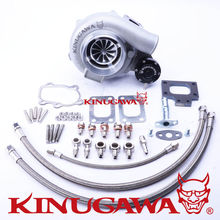 Kinugawa GTX Ball Bearing Turbocharger 4″ Anti-Surge GTX3071R AR.64 T25 5 Bolt for Nissan Silvia S13 CA180DET