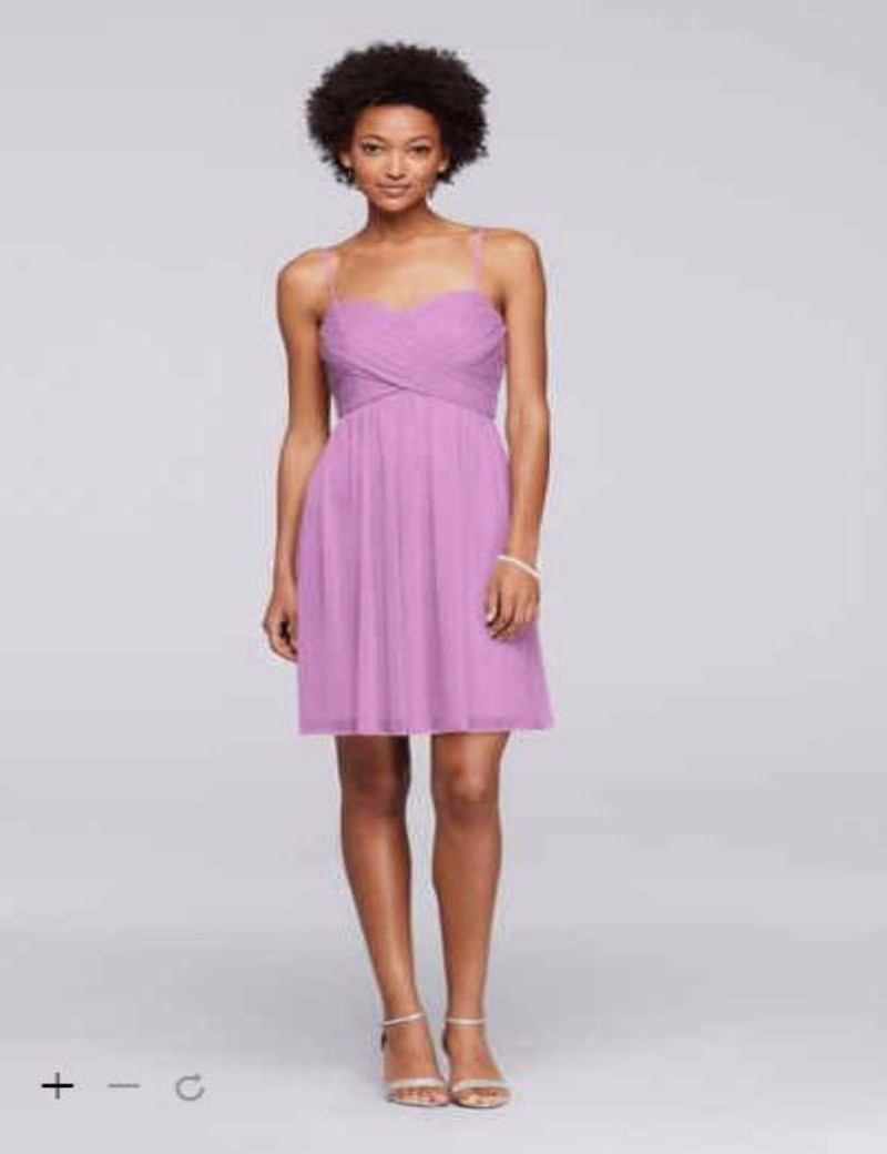 2016 mesh short bridesmaid dress with spaghetti straps extra 2016 mesh short bridesmaid dress with spaghetti straps extra length mesh bridesmaid dress david bridal 2xlf19373 gowns in bridesmaid dresses from weddings ombrellifo Gallery