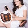 Viagens Vibratório amassar pescoço travesseiro massageador shiatsu infravermelho. ombro para trás massageador Elétrico carro. terapia vértebra Cervical