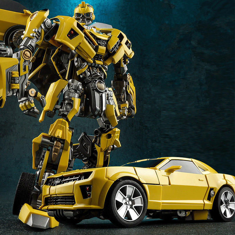 WEIJIANG New Alloy Transformation Movie 5 kid toy COOL robot car Model Anime Action Figures Classic