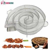 SHENHONG générateur de fumée froide pour barbecue Bacon poisson saumon viande poussière chaud et fumant saumon viande brûler fumeur outils Bacon viande poisson