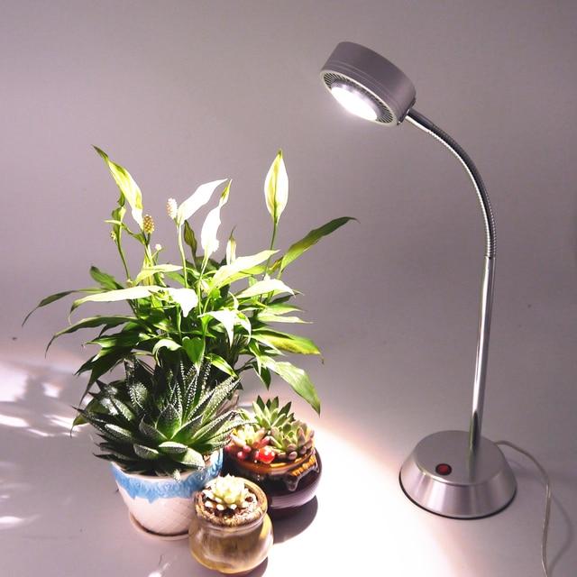 10w Led Full Spectrum Plant Grow Lamp Light Growth Desk For Plants Office Home Indoor Garden
